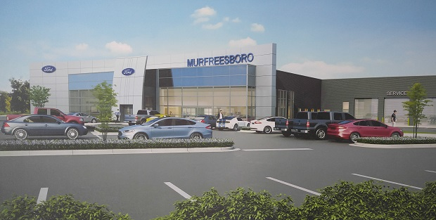 ford of murfreesboro will soon be done with construction making their dealership the biggest in. Black Bedroom Furniture Sets. Home Design Ideas