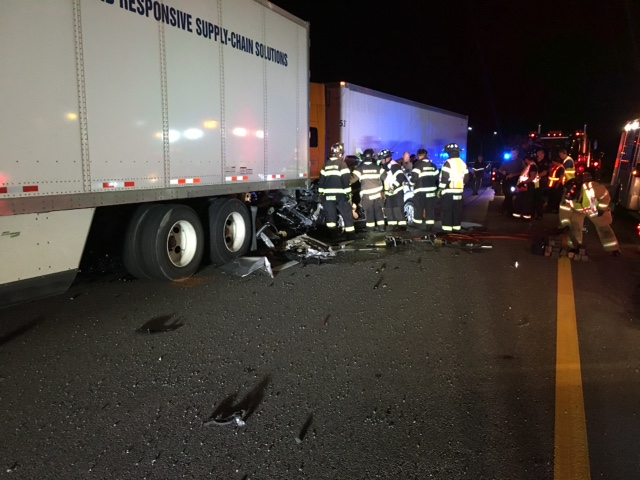 One killed on I-24 in one of two accidents in the area of Coffee