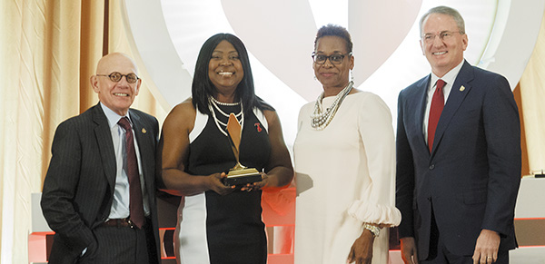 American Heart Association Honors Marcella Roberts