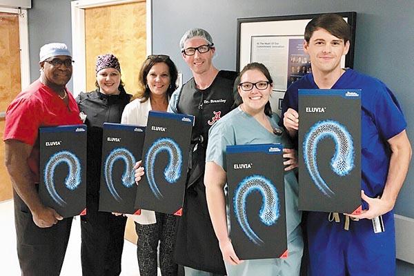 Brantley Performs Alabama's First Eluvia Stent Procedure