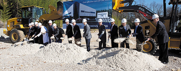 Ground Breaking for Vestavia Medical Plaza