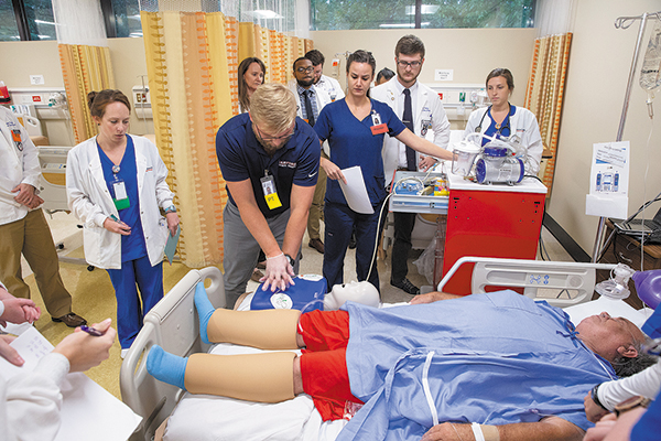 Samford Experiential Learning and Simulation Center Provides Hands-On Experience