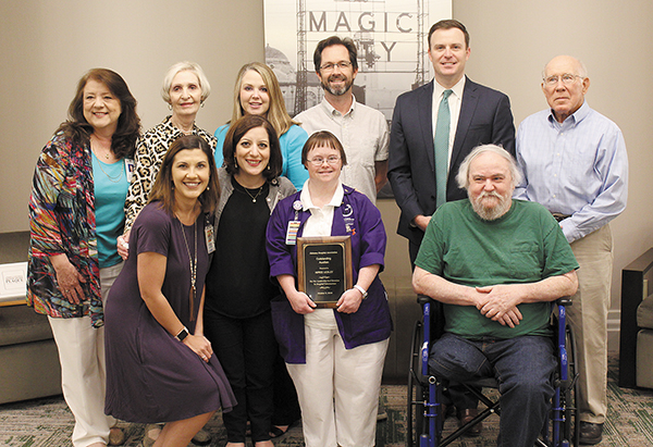 Local Hospital Volunteer Honored