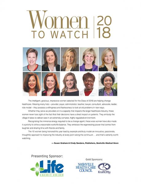 Women to Watch 2018