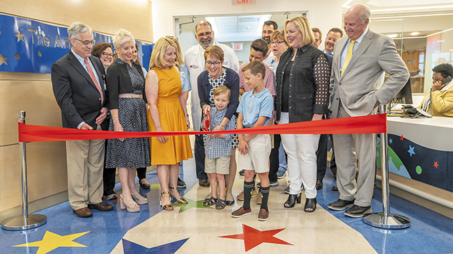 Children's Hospital at Vanderbilt Opens 10th Floor