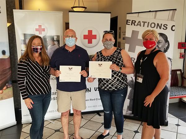 American Red Cross Recognizes Volunteer Achievements