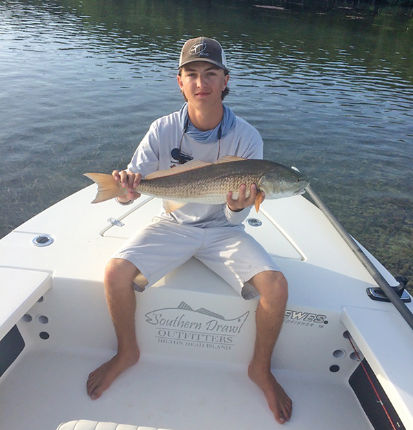 Nick Lucchesi was a lover of the outdoors, especially fishing on the backwaters in the Lowcountry.