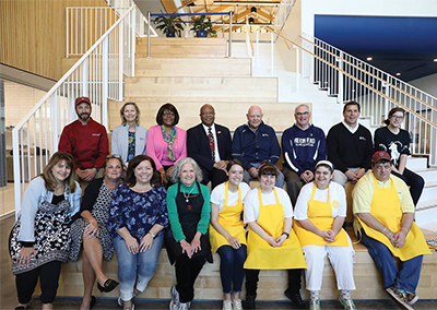 Finalists and judges of the inaugural Plaid Nation Cookie Contest gathered at USCB March 27. COURTESY HERITAGE CLASSIC FOUNDATION