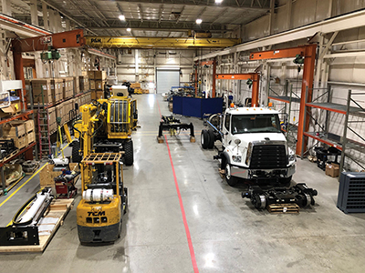 Geismar-Modern Track Machinery, a manufacturer and distributor of railway maintenance equipment, moved to Beaufort County in 2017. Officials say they couldn't be happier with the excellent quality of life and work force. COURTESY GEISMAR NORTH AMERICA