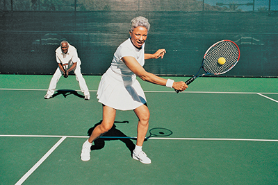 Take little steps to make big improvements in your tennis game
