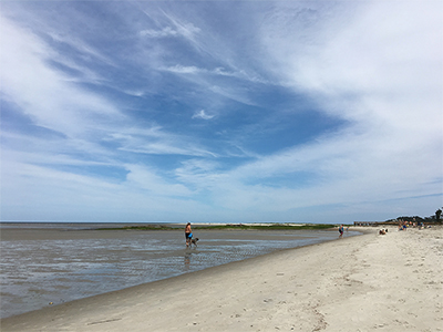 Island beaches become less crowded when our visitors leave, making room for residents to enjoy Locals' Summer. LYNNE COPE HUMMELL