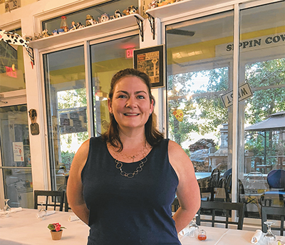 Christie Pinski, owner of Sippin Cow in Bluffton's Promenade, offers a monthly themed plant-based meal at her restaurant. J LANNING SMITH