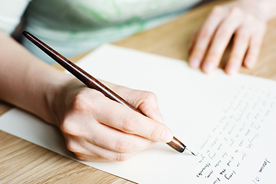Reviving lost art of note writing could change someone's life
