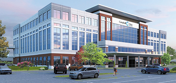 Campbell Clinic Set to Open Outpatient Facility This Fall