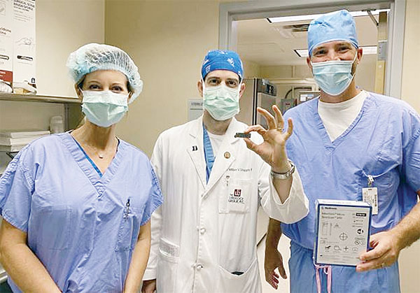 Surgery Center at Saint Francis Offers New Technology to Treat Incontinence