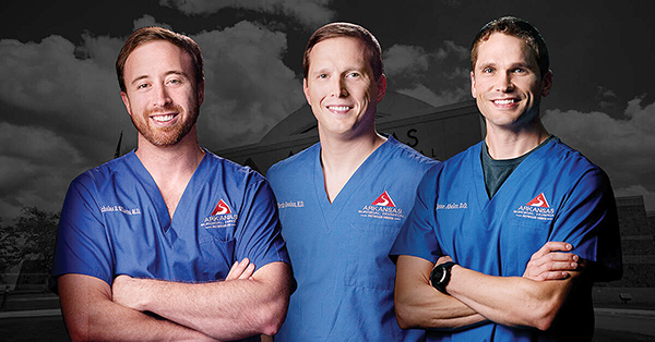 Three Orthopedic Surgeons Join Arkansas Surgical Hospital