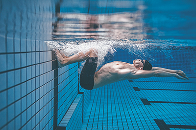 Follow the laws of physics to learn to swim better