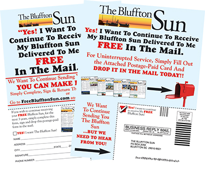 Help us help you continue receiving this newspaper