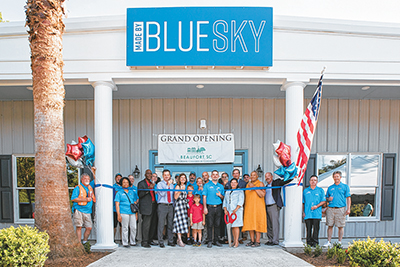 Blue Sky Processing held a ribbon cutting May 16 at its new plant near Gardens Corner in Beaufort County. It is the newest hemp processing plant in South Carolina.