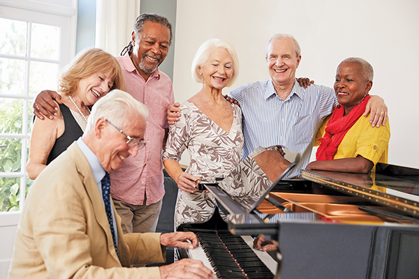 Don't be shy about pursuing your passions as an older adult