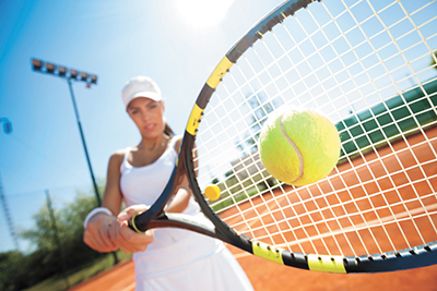 Staying at arm's length from the ball; more tennis DNA