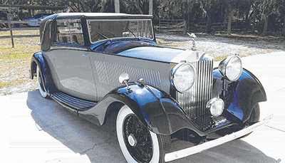 This 1935 Rolls-Royce Sedanca Coupe 20/25 will be included in the
