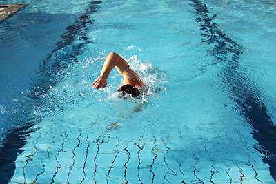 Elbows are the key to efficient swimming