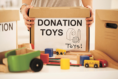 Town of Bluffton again  collects toys for local children