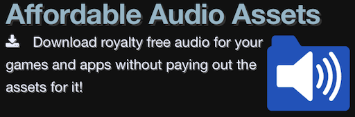 /><br /> <br /> Affordable Audio Assets<br /> <br /> <a href=