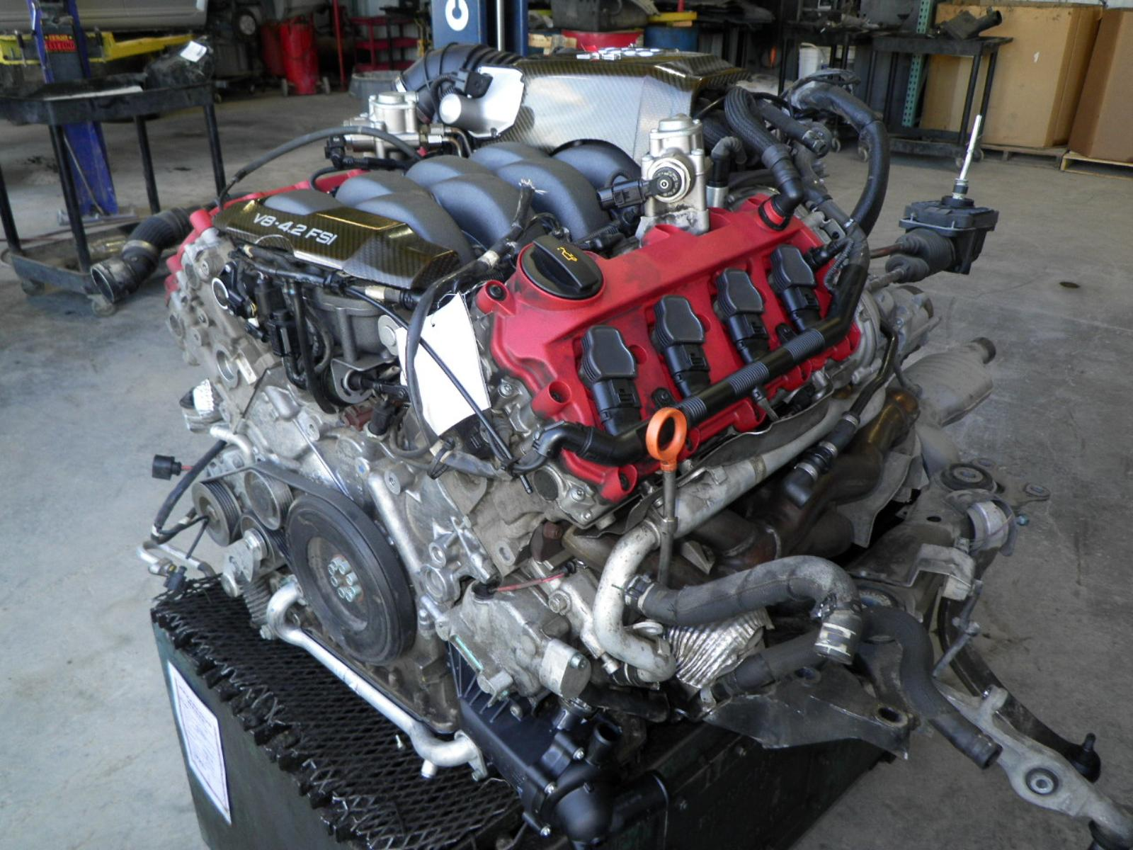 2007 AUDI RS4 ENGINE 4.2L (LONGBLOCK - NO ACCESSORIES) | eBay