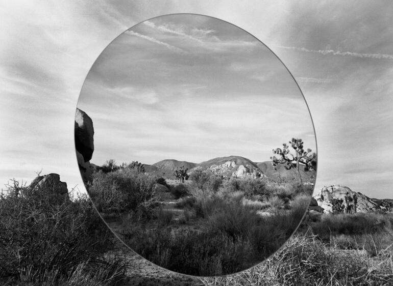 1%29 mirror in desert  calif copy