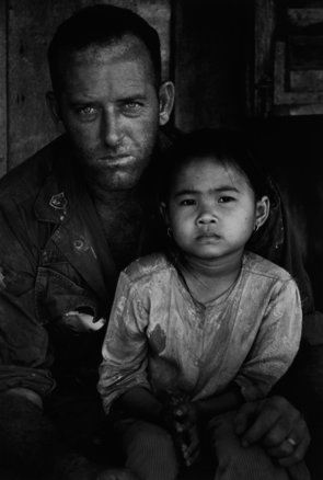 1%29 gi with child. vietnam  1967. %c2%a9 philip jones griffiths magnum photos