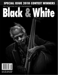 No. 128 August 2018 : Black & White : For Collectors of Fine Photography cover