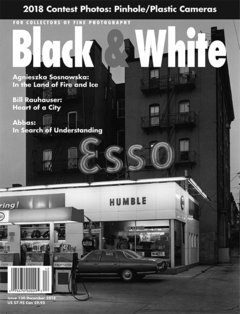 No. 130 December 2018 : Black & White : For Collectors of Fine Photography cover