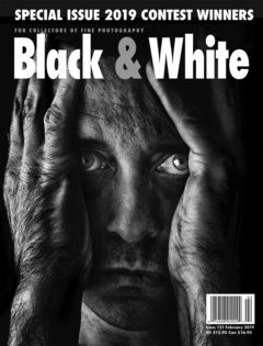 No. 131 February 2019 : Black & White : For Collectors of Fine Photography cover
