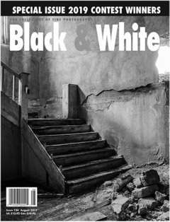No. 134 August 2019 : Black & White : For Collectors of Fine Photography cover