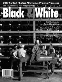 No. 141 October 2020 : Black & White : For Collectors of Fine Photography cover
