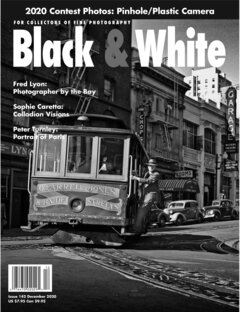 No. 142 December 2020 : Black & White : For Collectors of Fine Photography cover