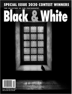 No. 144 February 2021 : Black & White : For Collectors of Fine Photography cover