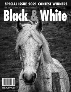 No. 147 August 2021 : Black & White : For Collectors of Fine Photography cover