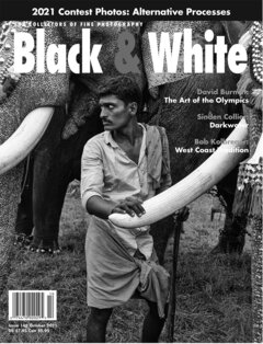 No. 148 October 2021 : Black & White : For Collectors of Fine Photography cover