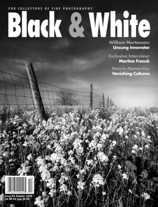 No. 93 October 2012 : Black & White : For Collectors of Fine Photography