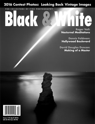 No. 114 April 2016 : Black & White : For Collectors of Fine Photography