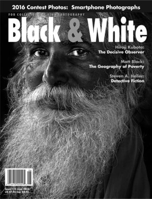No. 115 June 2016 : Black & White : For Collectors of Fine Photography
