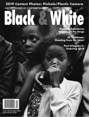 No. 136 December 2019 : Black & White : For Collectors of Fine Photography