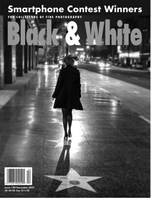 No. 149 December 2021 : Black & White : For Collectors of Fine Photography cover