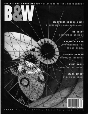 No. 3 Fall 1999 : B&W : For Collectors of Fine Photography
