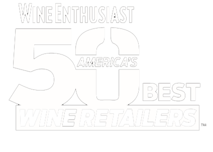 Wine Enthusiast. America's 50 Best Wine Retailers logo
