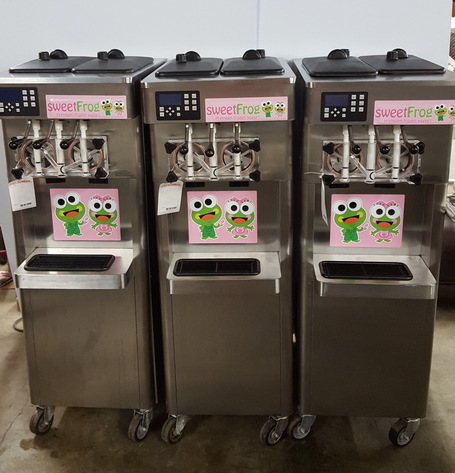 Frozen Yogurt/ Soft Serve Machine Auction
