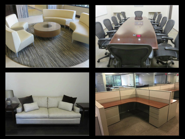 Conference Tables, Office Desk, Desk Chairs, Waiting Area Furniture, Art and Much More!